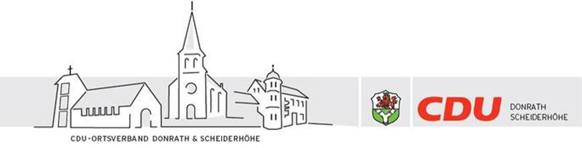 Willkommen beim CDU Ortsverband Donrath-Scheiderhöhe
